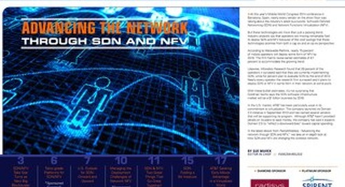 Advancing the Network through SDN and NFV