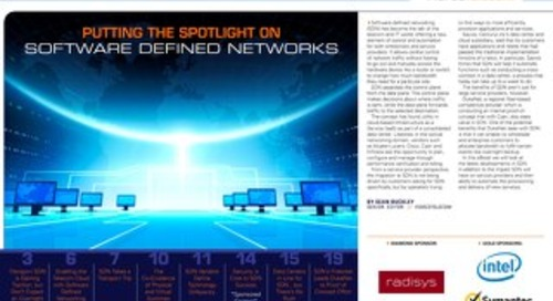 Putting the Spotlight on Software Defined Networks