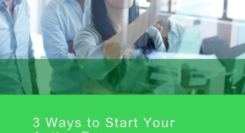 3 Ways to Start Your Active Energy Management Journey