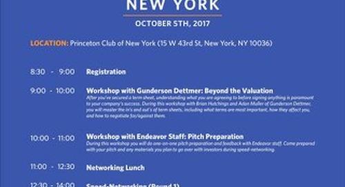 2017 EIN NY Entrepreneur Agenda