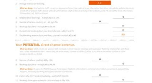 Rethinking Your Direct Channel Worksheet for Hotels