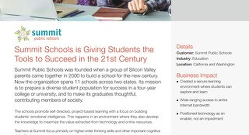 Summit Schools is Giving Students the Tools to Succeed in the 21st Century