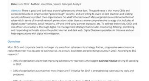 ESG: The Pressing Need for Digital Risk Management