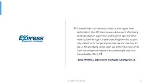 Express Employment Professionals Testimonials