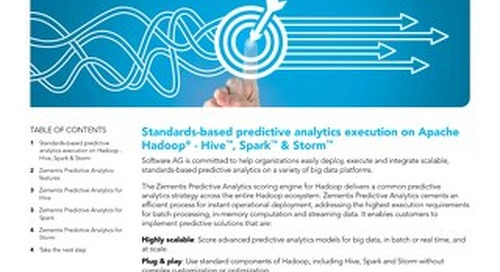 Predictive Analytics for Hadoop®