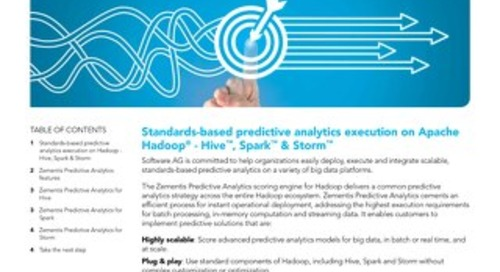 Predictive Analytics for Hadoop®