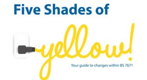 Five Shades of Yellow