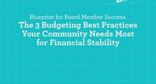 The 3 Budgeting Best Practices Your Community Needs Most for Financial Stability