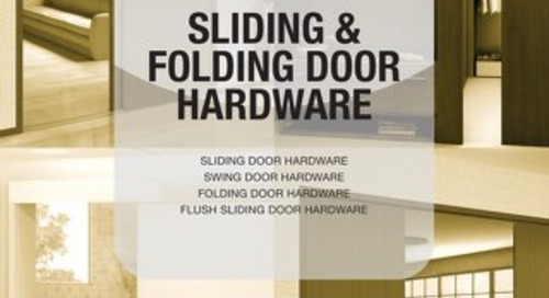 Catalog 201 487-541 Sliding & Folding Door Hardware