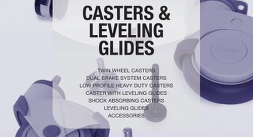 Catalog 201 599-631 Casters & Leveling Glides