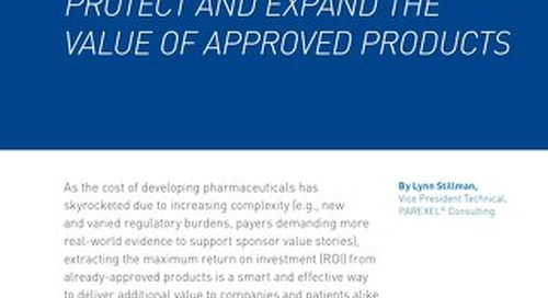 How To Boost ROI And Protect And Expand The Value of Approved Products