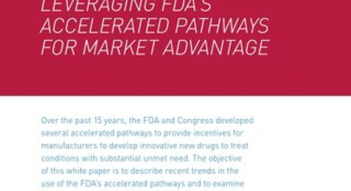 Leveraging FDA's Accelerated Pathways For Market Advantage