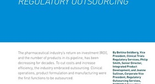 How To Get The Most From Regulatory Outsourcing
