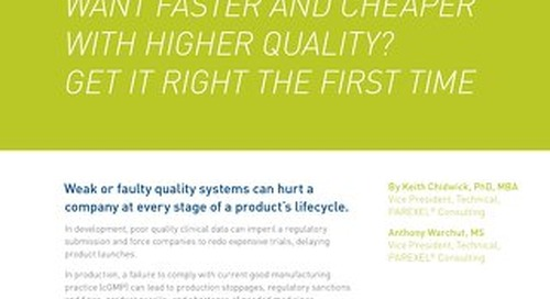 Want Faster And Cheaper With Higher Quality?