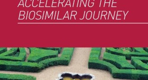 Accelerating the Biosimilar Journey