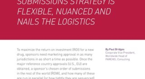 A Smart Global Reg Submissions Strategy
