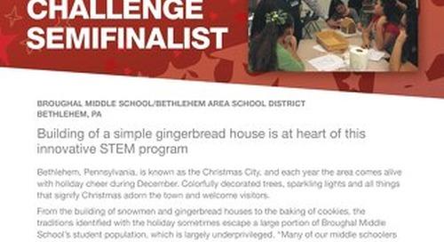 2016 Follett Challenge Middle School Semifinalist: Bethlehem Area School District
