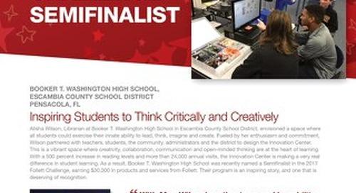 2017 Follett Challenge High School Semifinalist Escambia County School District