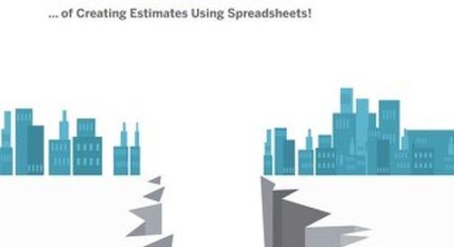 7 Pitfalls of Creating Estimates in Spreadsheets