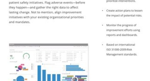 Flag adverse events before they happen with Risk Register