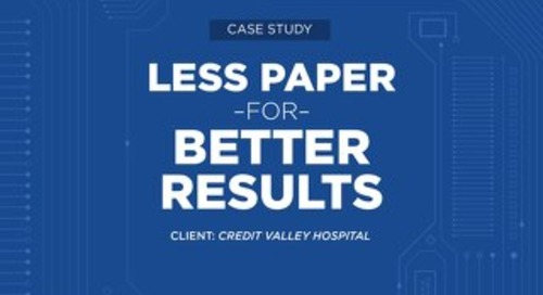 Case Study: Credit Valley Hospital