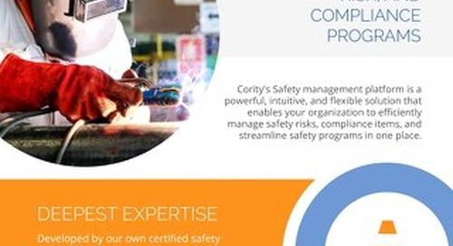 Cority Safety Management