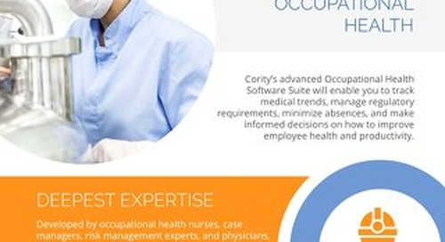 Cority Occupational Health Management