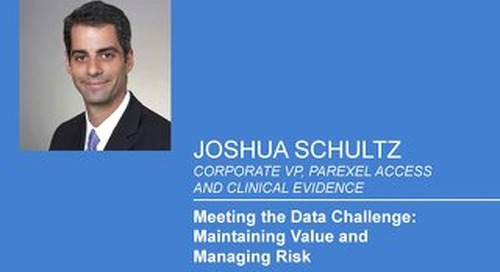 Meeting The Data Challenge: Maintaining Value and Minimizing Risk
