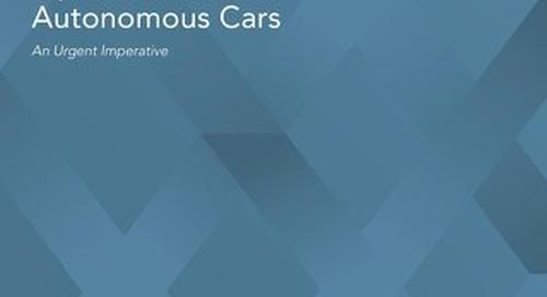 Open Standards for Autonomous Cars