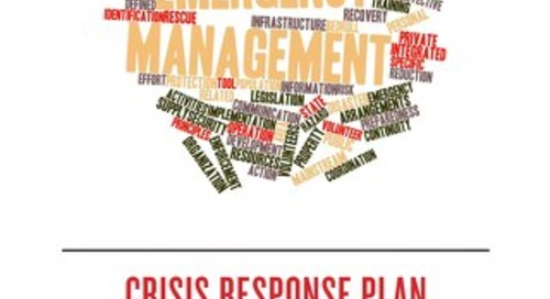 IRMA Crisis Management Plan