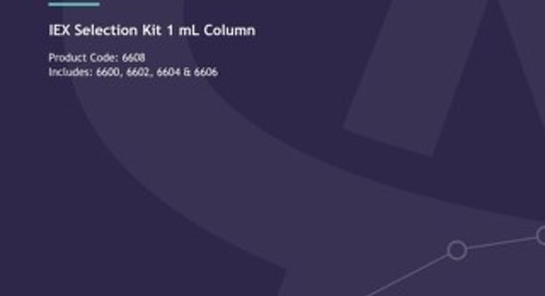 IEX 1 mL Column Kit Technical User Guide