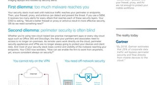 Off-network security for law firms & legal services