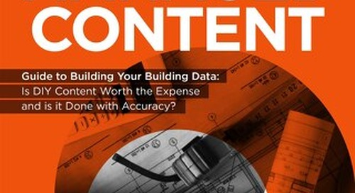 Building Your Building Data: Is DIY Content Worth the Expense & Is it Accurate?