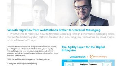 Universal Messaging for webMethods