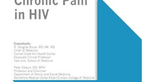 Chronic Pain in HIV