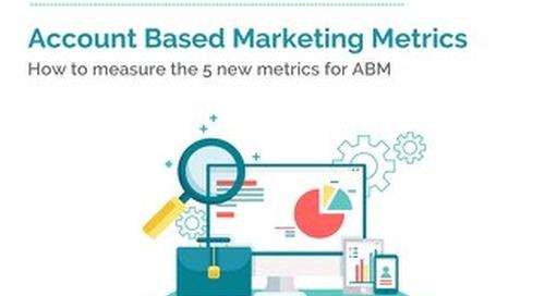 Account Based Marketing Metrics  |  Engagio