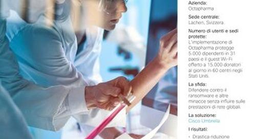 Octapharma: un'azienda multinazionale del settore sanitario debella il ransomware