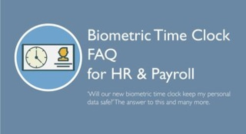 Biometric Time Clock FAQ