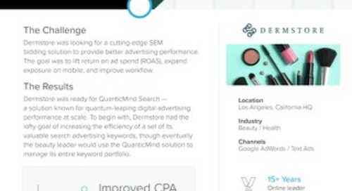 QuanticMind Customer Success Story - Dermstore