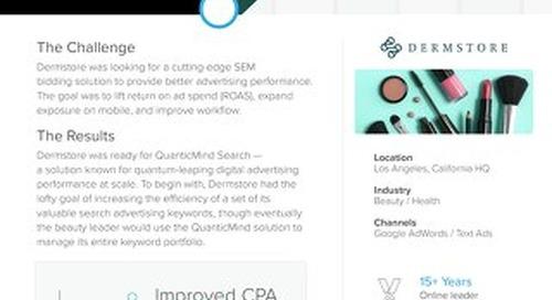 QuanticMind Customer Success Story - Dermstore
