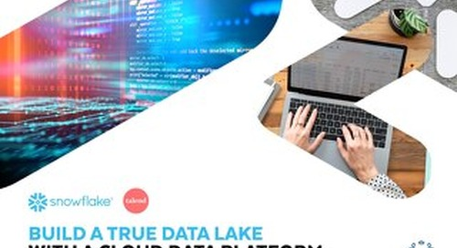 Build a True Data Lake with a Cloud Data Warehouse