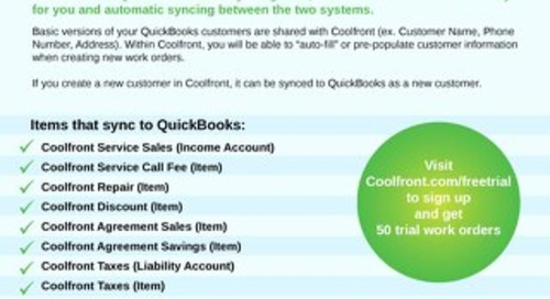 Coolfront and QuickBooks Integration
