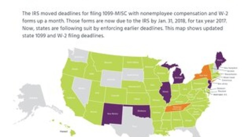 States Tighten Deadlines for 1099 Reporting