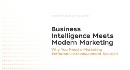 Business Intelligence Meets Modern Marketing Whitepaper