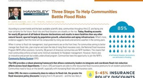 Edition 1: How communities can manage water risks and plan smarter