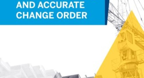 Tips and Tools to Create a Fast and Accurate Change Order