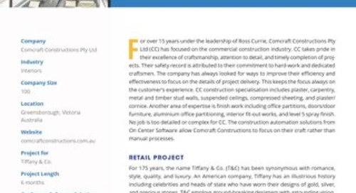 Comcraft Construction's Award-Winning Retail Project
