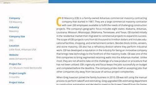 CB Masonry's Innovative Hotel and Museum Project