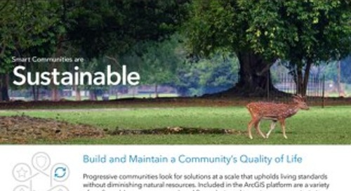 App Guide: Smart Communities are Sustainable