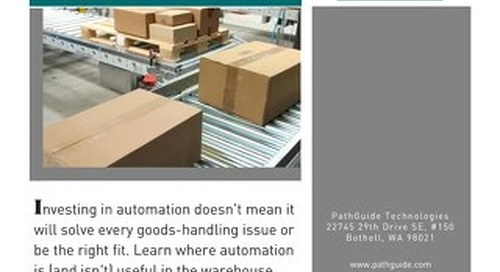 Automation in the Warehouse: Asset or Obstacle?